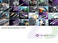 FY2008 AGM Presentation